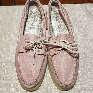 SPERRY Topsider Pebbled Leather Boat Shoe